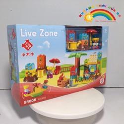 Xếp hình thông minh LiveZone - Công viên vui nhộn KTB902