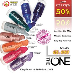 Sơn móng tay The ONE Long Wear Nail Polish - Oriflame