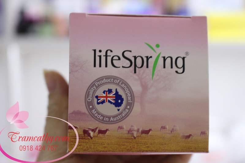 Kem dưỡng da chống lão hóa chiết xuất nhau thai cừu Lifespring 1