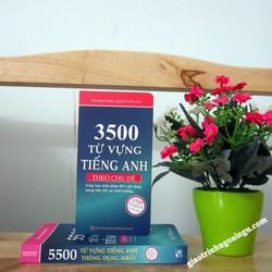 Sách 3500 từ vựng tiếng Anh theo chủ đề