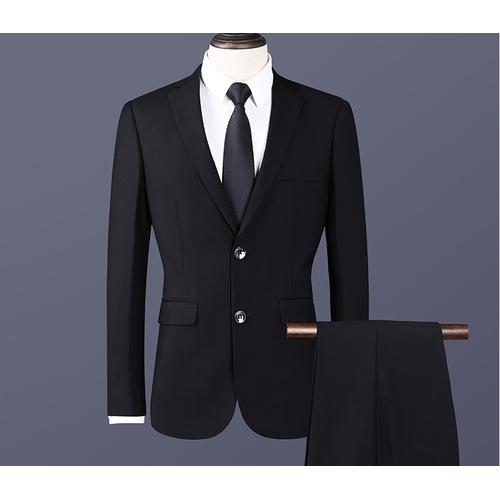 Bộ quần áo giả vest nam 2 khuy có túi áo trong kiểu dáng công sở