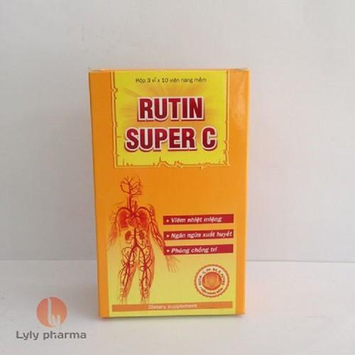 Rutin Super C - Tăng sức đề kháng cho cơ thể