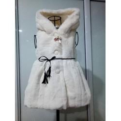 Áo khoác gile lông cho bé gái từ 14kg đến 22kg