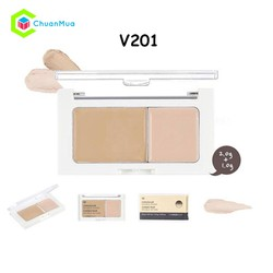 Che khuyết điểm THEFACESHOP Concealer Double Cover - #V201 - MPA465