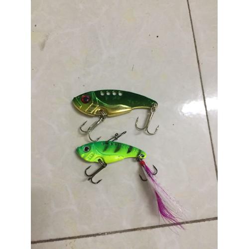 cá sắt câu lure 12g và 7g