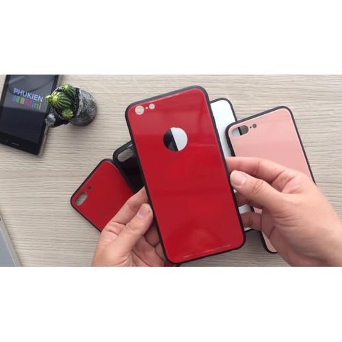 Ốp lưng iPhone 6, 6s lưng kính cường lực 9H hiệu Sulada