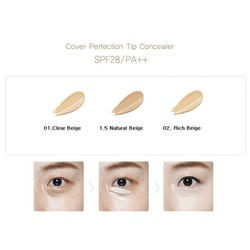 CHE KHUYẾT ĐIỂM THE SAEM COVER PERFECTION TIP CONCEALER
