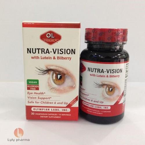 Nutra Vision - Cho đôi mắt khỏe mạnh