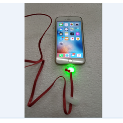 Cáp sạc dạ quang cho iPhone hình mặt mèo