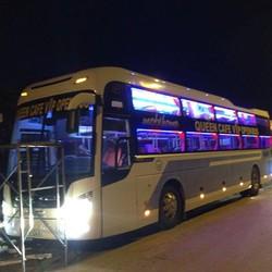 xe khứ hồi Hà Nội- Sapa xe Queen Cafe Open Bus Hà Nội- Sapa