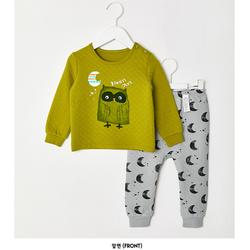 Bộ quần áo hình cú cho bé