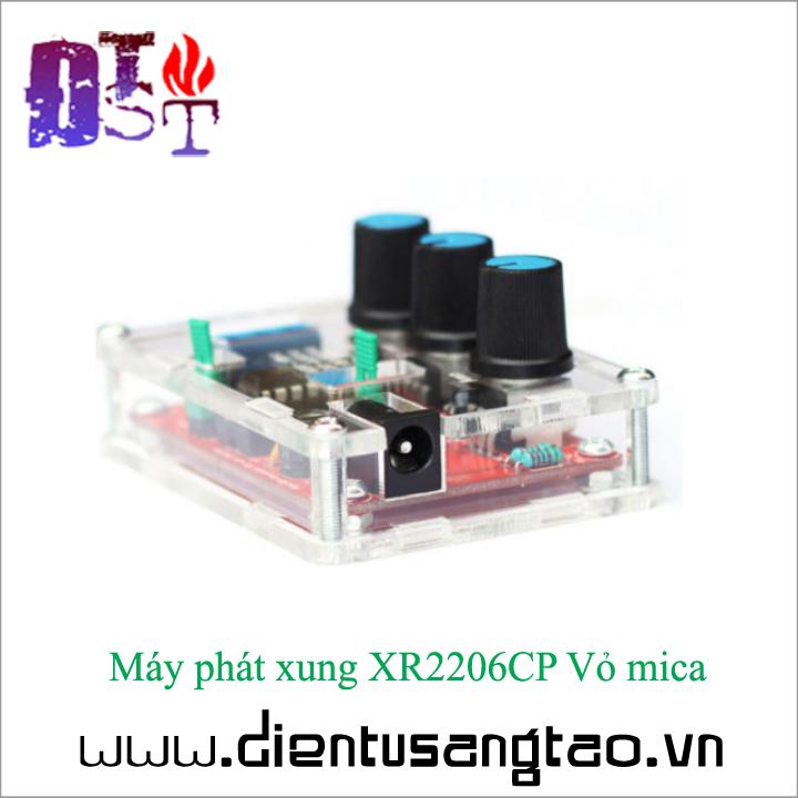 Máy phát xung XR2206CP Vỏ mica Tự ráp 5