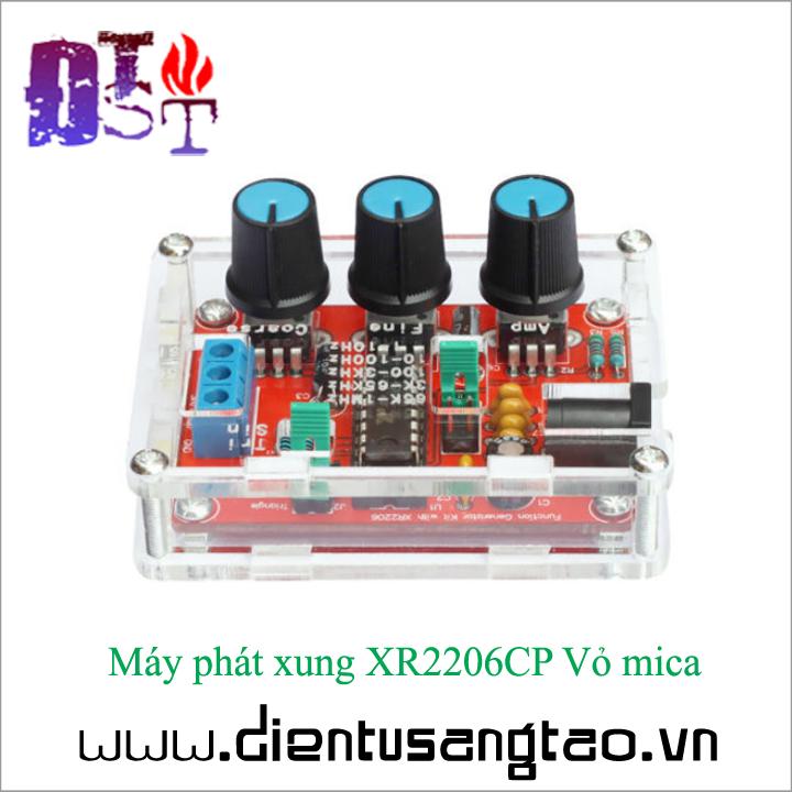 Máy phát xung XR2206CP Vỏ mica Tự ráp 3
