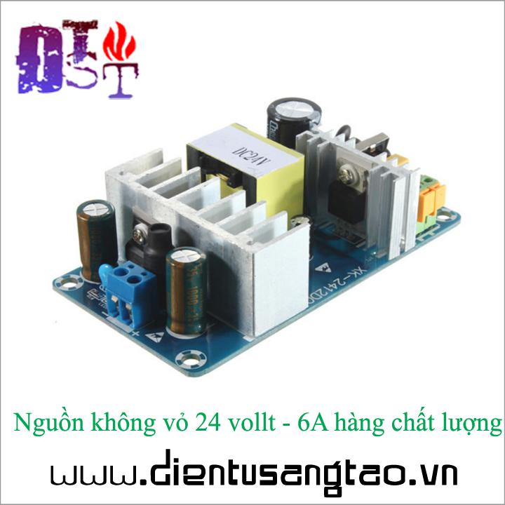 Nguồn không vỏ 24 vollt - 6A hàng chất lượng 4