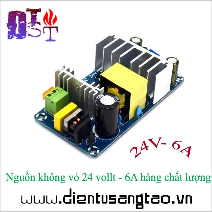 Nguồn không vỏ 24 vollt - 6A hàng chất lượng 2