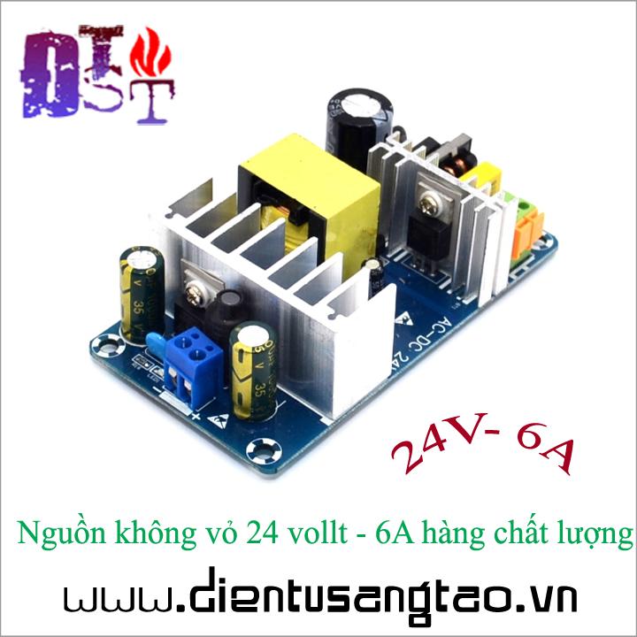 Nguồn không vỏ 24 vollt - 6A hàng chất lượng 3