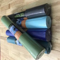 Thảm tập yoga Pvc 4mm có túi đựng