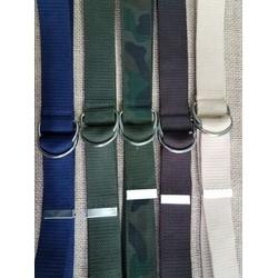 Dây nịt vải bố khóa 2 thanh khóa tròn chữ D trẻ trung năng động nam nữ