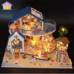 Bộ mô hình lắp ghép DIY - Biệt Thự Bãi Biển