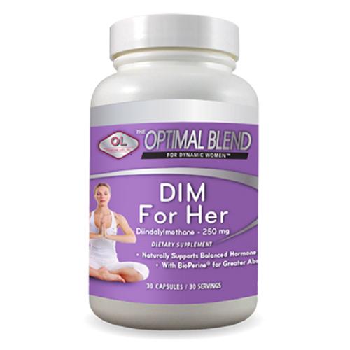 DIM For Her - Hỗ trợ cân bằng nội tiết tố nữ