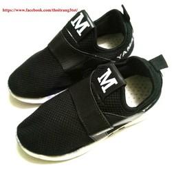 Giày bata thể thao quai dán nữ