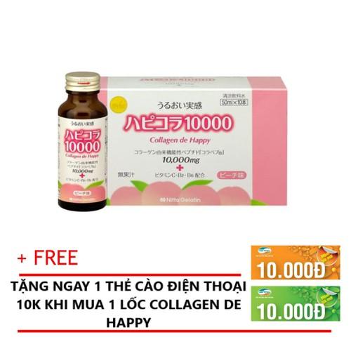 ?TẶNG CARD 10K - Collagen De Happy Bí Quyết Làm Đẹp Từ Nhật Bản?