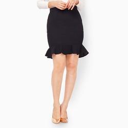 Váy ngắn đuôi cá màu đen size L