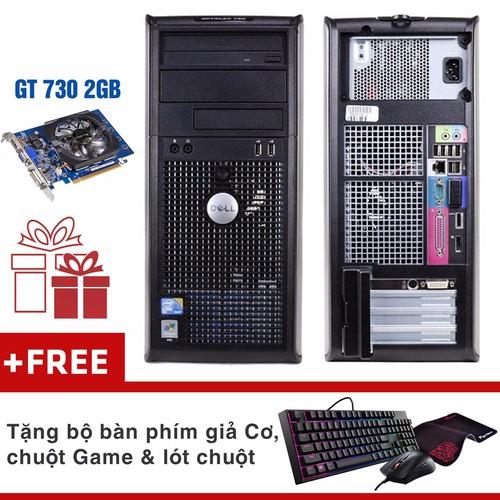 Máy tính chơi Game Dell 780 MT Core 2 QUAD Q6600, Ram 8GB, HDD 500GB
