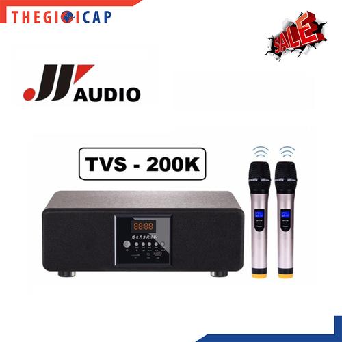 Loa karaoke Bluetooth cao cấp JVAUDIO 200K -  Kèm 2 Micro không dây - 5185117 , 8536951 , 15_8536951 , 3590000 , Loa-karaoke-Bluetooth-cao-cap-JVAUDIO-200K-Kem-2-Micro-khong-day-15_8536951 , sendo.vn , Loa karaoke Bluetooth cao cấp JVAUDIO 200K -  Kèm 2 Micro không dây