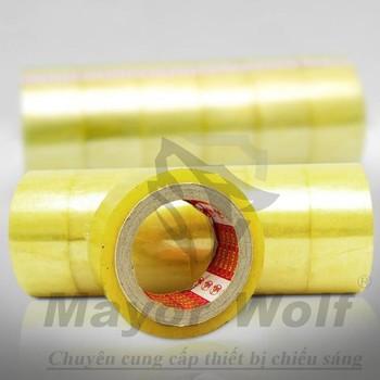 Băng dính HEPAI TAPE màu vàng chanh - BDMW