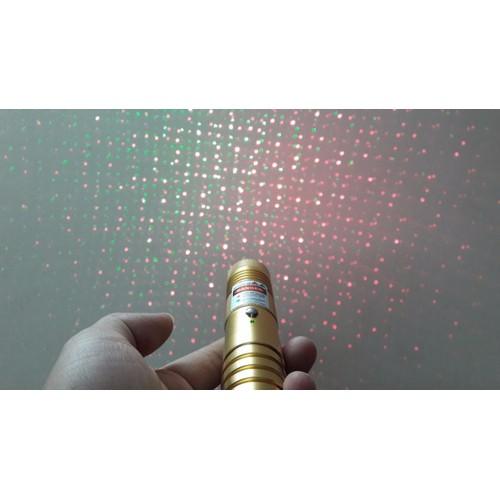 Đèn Laser 309 hai tia xanh đỏ 4 trong 1