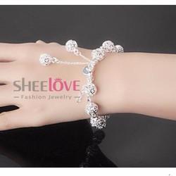 Lắc tay bi tròn thời trang Hàn Quốc SPB-LT115