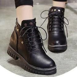 Giày Boot nữ thời trang B108D