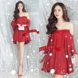 Đầm Xoè Cúp Ngực Kim Tuyến