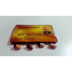tai nghe siêu nhỏ thẻ ATM kiêm điện thoại siêu nhỏ từ trường không dây