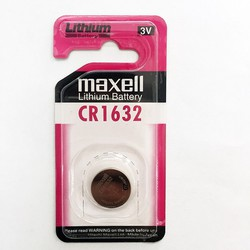 Pin CR1632 Maxell lithium 3V chính hãng - Vỉ 1 viên