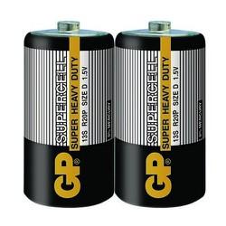 Vỉ 2 viên pin đại D 1.5V GP Supercell Carbon 13S-2S2