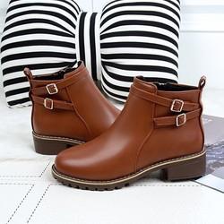 Giày Boot nữ kiểu dáng thời trang B090N
