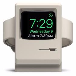Dock sạc Apple Watch 42mm,38mm phong cách Mac Retro cổ điển