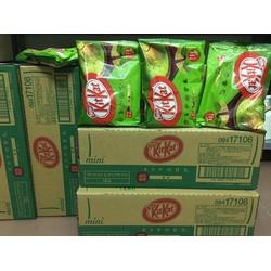 Bánh Kitkat trà xanh