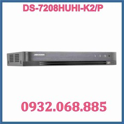Đầu ghi hình camera DS-7208HUHI-K2-P 8 kênh 2 ổ cứng