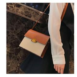 Túi da đeo Nữ kiểu Hàn 3 màu thới thượng