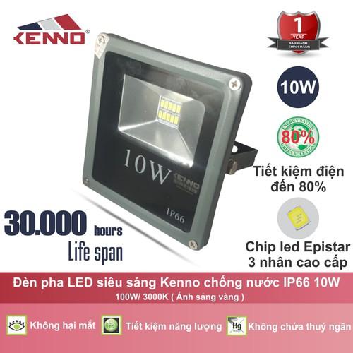 Đèn pha led chống nước chịu lực L1PS10W-V