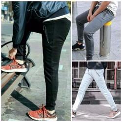 CHUYÊN SỈ LẺ Quần jogger nam túi khóa kéo - kèm hình thật kk40