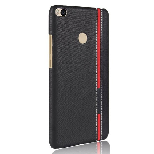 Ốp lưng 2 màu Xiaomi Mi Max 2 thời trang đen