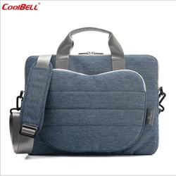 Túi đựng Laptop, Macbook CoolBell cao cấp 15inch có dây đeo
