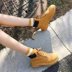 Giày Boots nữ đẹp cá tính mới - Phong cách HQ
