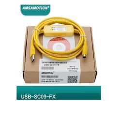 Cáp lập trình PLC Mitsubishi dòng FX: USB-SC09-FX