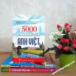 Sách 5000 câu giao tiếp Anh Việt - Kèm CD
