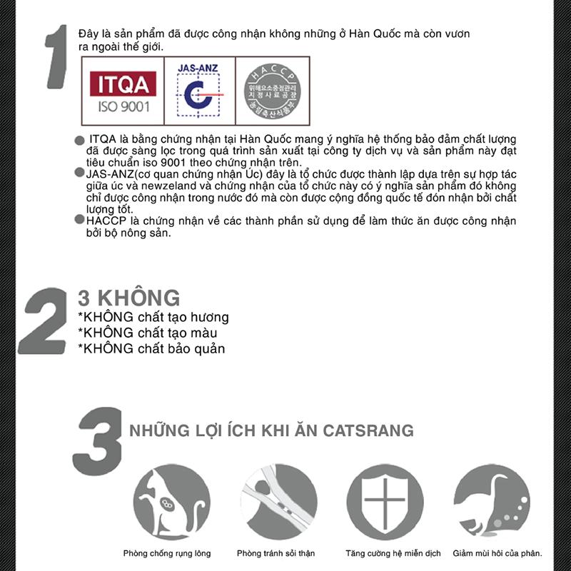 Catsrang-Thức ăn hạt cho mèo mọi lứa tuổi 2 kg 2
